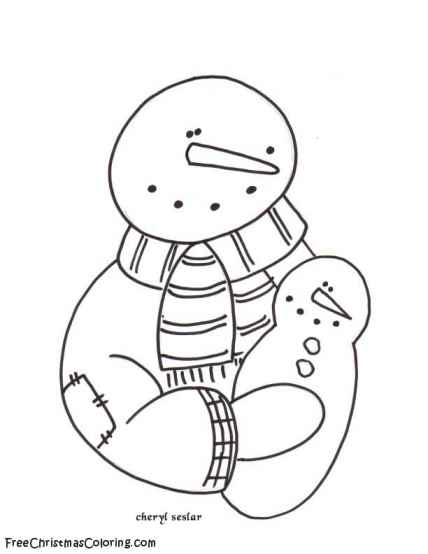 free snowbuddies coloring pages - photo#17