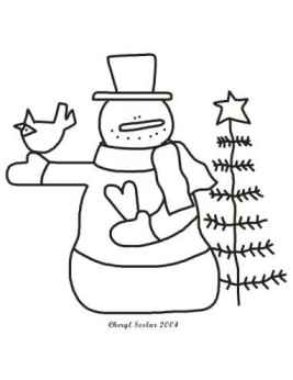 You Melt My Heart Snowman Coloring Page